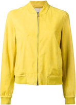 Herno leather bomber jacket - women - Polyamide/Modal/Cotton/Goat Suede - 40