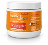 Neutrogena Rapid Clear Maximum Strength Treatment Pads, 60 Count