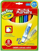 Crayola My First 8ct Broad Line Washable Markers