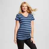 Liz Lange for Target Maternity Striped Short Sleeve V-Neck Tee - Liz Lange® for Target