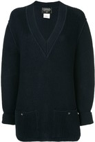 Chanel Pre Owned long sleeve sweater knitted cotton knit
