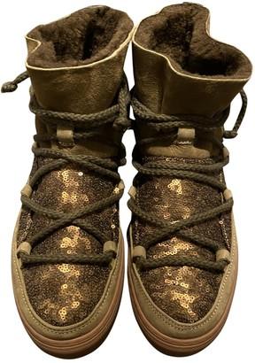 INUIKII Brown Suede Boots