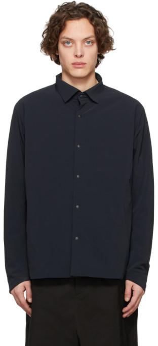 Descente Black Titanium Thermo Insulated Shirt