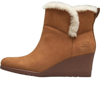 UGG Womens Devorah Wedge Boots Chestnut