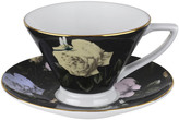 Ted Baker Rosie Lee Teacup & Saucer - Black