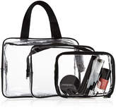 Marks and Spencer 3 Piece Clear Cosmetic Bag Set