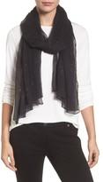 Eileen Fisher Women's Metallic Fleck Silk Scarf