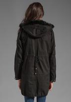 Patterson J. Kincaid PJK Lauren Fur Parka Jacket