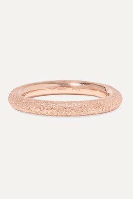 Carolina Bucci Florentine 18-karat Rose Gold Ring - 5