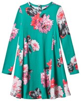 Joules Green and Pink Jersey Dress