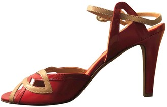 Fratelli Rossetti Red Leather Sandals
