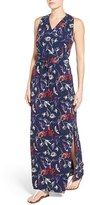 Women's Halogen Drawstring Waist Maxi Dress