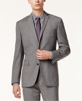 Bar III Men's Gray Glen Plaid Slim-Fit Jacket, Only at Macy's