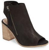 Sole Society Women's Arizona Block Heel Peep-Toe Bootie