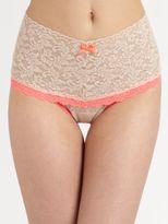 Hanky Panky Colorplay Retro Lace Thong