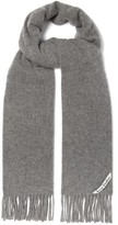 Acne Studios Canada Wool Scarf - Mens - Light Grey