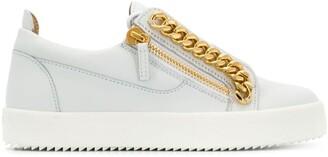 Giuseppe Zanotti Chain Detail Sneakers