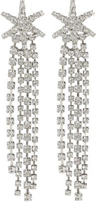 Jennifer Behr Esta Crystal Star Fringe Earrings