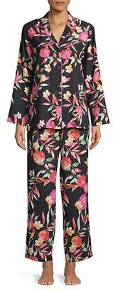 Natori 2-Piece Floral Pajama Set