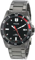 Pulsar 3-Hand with Date Stainless Steel Men's watch #PS9105