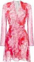 Carven floral print dress - women - Polyester/Acetate/Silk - 36