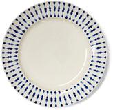 Imagine Home Set of 4 Cua Dai Dinner Plates - Navy/Ivory