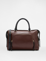 DKNY Leather Satchel