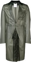 Comme des Garcons dinner impermeable jacket - men - Polyurethane/Wool - M