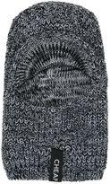 Cheap Monday Melange Knit Ninja Hood W/ Visor
