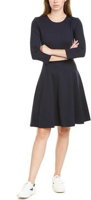 Eliza J Pleated A-Line Dress