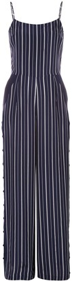 L'Agence Finley striped jumpsuit