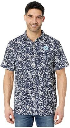 Columbia College North Carolina Tar Heels CLG Super Slack Tidetm Shirt (Collegiate Navy) Men's Clothing