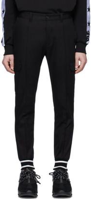 Dolce & Gabbana Black Cuffed Cargo Pants