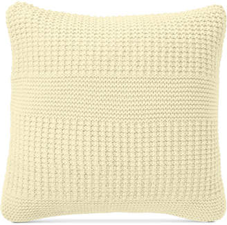 "Charter Club Damask Designs Multi-Knit 20"" Square Decorative Pillow, Bedding"