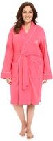 Lauren Ralph Lauren Plus Size Essentials Quilted Collar and Cuff Robe