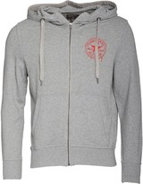 Converse Mens Drip Procession Full Zip Hoody Vintage Grey Heather
