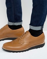 Kickers Kymbo Leather Oxford Brogue Shoes