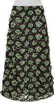 Marni Floral Embroidered Midi Skirt