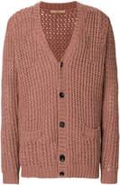 Nuur V-neck buttoned cardigan