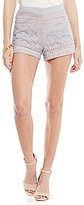 Gianni Bini Shelly Contrast Lace Short