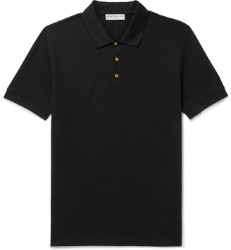 Givenchy Slim-Fit Cotton-Pique Polo Shirt