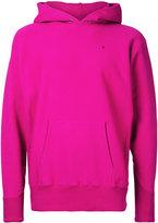 Aton - kangaroo pockets hoodie - men - Cotton - 6