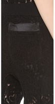 Nina Ricci Lace Seamed Jogging Pants