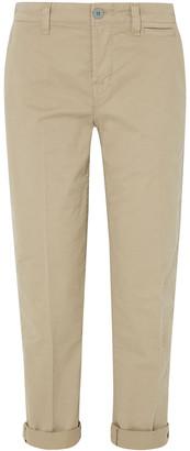 J Brand Cotton-blend Twill Straight-leg Pants