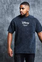 BoohooMAN Disney Big & Tall Placement Print T-Shirt