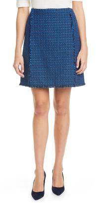 HUGO BOSS Vomanda Tweed Suit Skirt