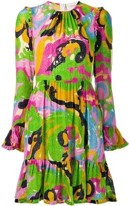 La DoubleJ short pleated dress