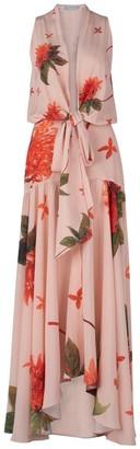 Silvia Tcherassi Ada Luz Dress in Coral Flower