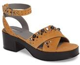 Topshop Women's Vanity Embellished Platform Sandal