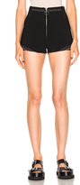3.1 Phillip Lim Shorts with Rib Insert and Stud Hem